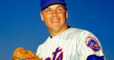 FILE - In this March 1968 file photo, New York Mets pitcher Tom Seaver poses for a photo, location not known. (AP Photo, File)