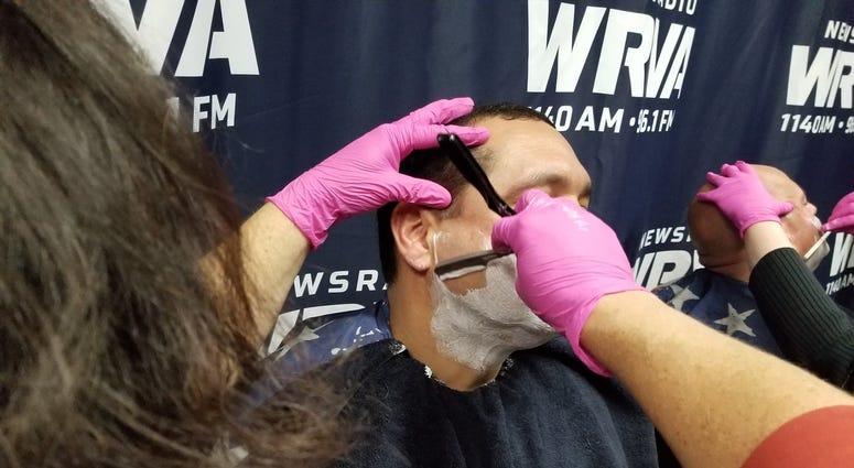 Lt. Mehfoud shave