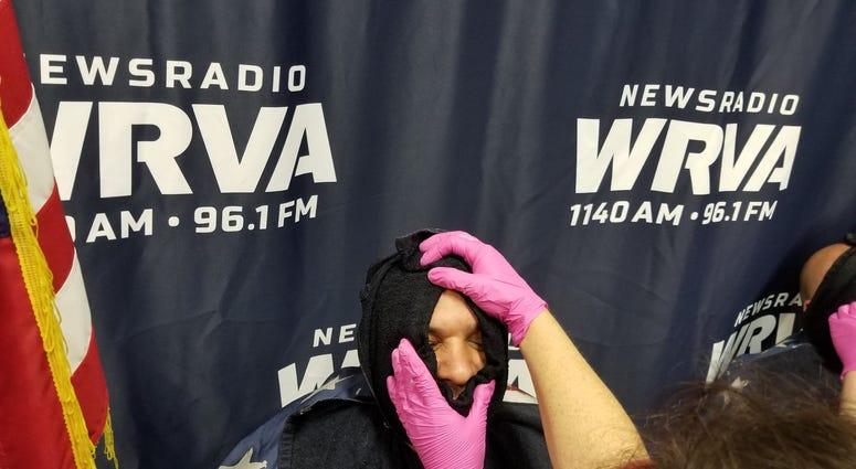 Lt. Mehfoud hot towel