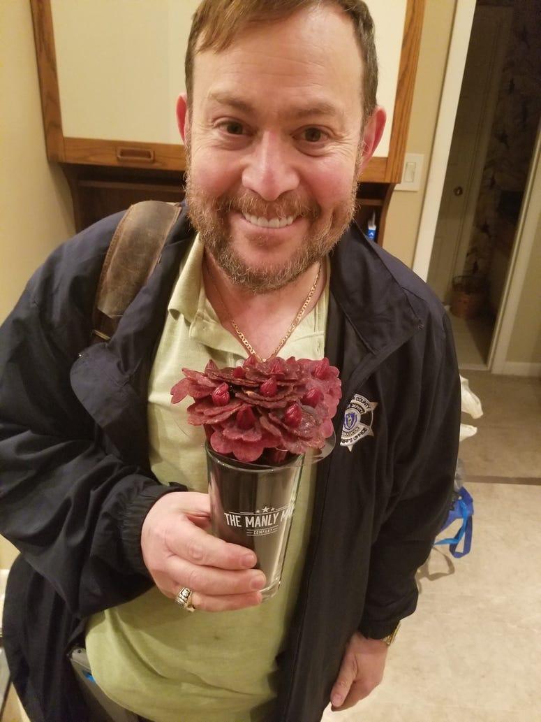 Jeff Jerky Roses