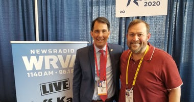 Jeff and Scott Walker