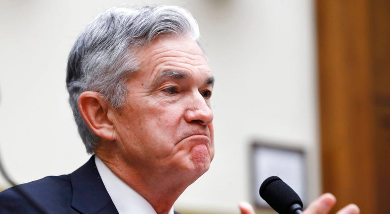 Federal Reserve Board Chair Jerome Powell testifies during a House Committee on Financial Services hearing, Wednesday, July 18, 2018, on Capitol Hill in Washington. (AP Photo/Jacquelyn Martin)
