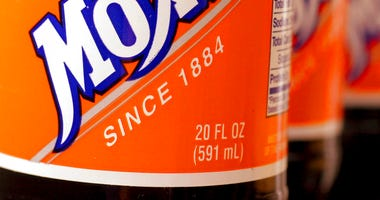 In this May 27, 2005 file photo, bottles of the soft drink Moxie are pictured in West Bath, Maine.(AP Photo/Pat Wellenbach, File)
