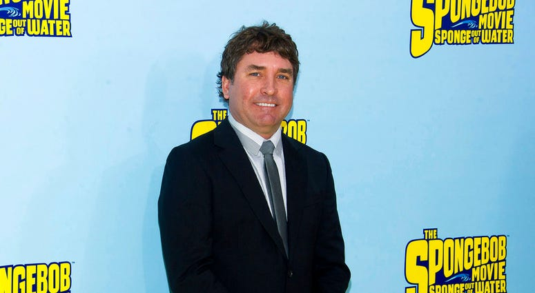 """FILE - In this Jan. 31, 2015 file photo, SpongeBob SquarePants creator Stephen Hillenburg attends the world premiere of """"The SpongeBob Movie: Sponge Out Of Water"""" in New York. (Photo by Charles Sykes/Invision/AP, File)"""