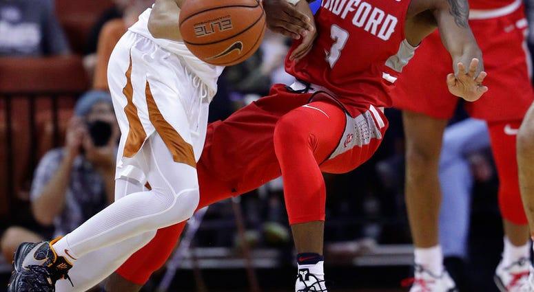 Radford Stuns No 17 Texas On Jones Layup 62 59 In College Basketball Newsradio 1140 Wrva