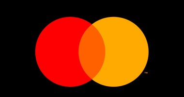 This undated product image provided by Mastercard shows Mastercard's new logo.(Mastercard via AP)