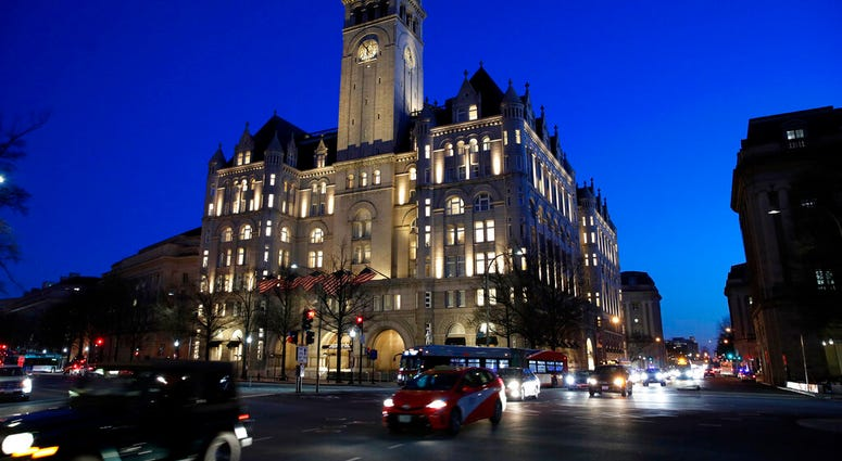 FILE - This Jan. 30, 2018, file photo shows the Trump International Hotel in Washington. (AP Photo/Alex Brandon, File)