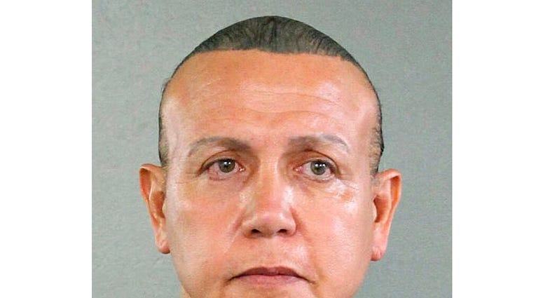 This Aug. 30, 2015, file photo released by the Broward County Sheriff's Office shows Cesar Sayoc in Miami.  (Broward County Sheriff's Office via AP, File)