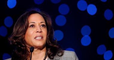Democratic Presidential Candidate Sen. Kamala Harris, D-Calif., speaks at the Alpha Kappa Alpha Sorority South Central Regional Conference in New Orleans, Friday, April 19, 2019. (AP Photo/Gerald Herbert)