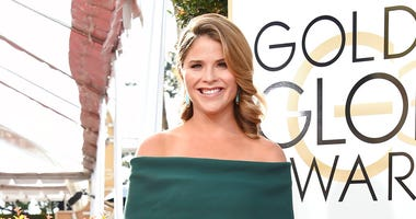 FILE - In this Jan. 8, 2017, file photo, Jenna Bush Hager arrives at the 74th annual Golden Globe Awards at the Beverly Hilton Hotel in Beverly Hills, Calif.   (Photo by Jordan Strauss/Invision/AP, File)