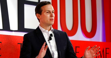 Jared Kushner, Senior Adviser to President Donald Trump, speaks during the TIME 100 Summit, in New York, Tuesday, April 23, 2019. (AP Photo/Richard Drew)