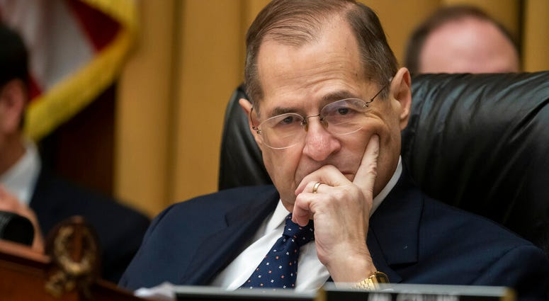 House Judiciary Committee Chair Jerrold Nadler, D-N.Y., moves ahead with a vote to hold Attorney General William Barr in contempt of Congress after last-minute negotiations stalled with the Justice Department. (AP Photo/J. Scott Applewhite)