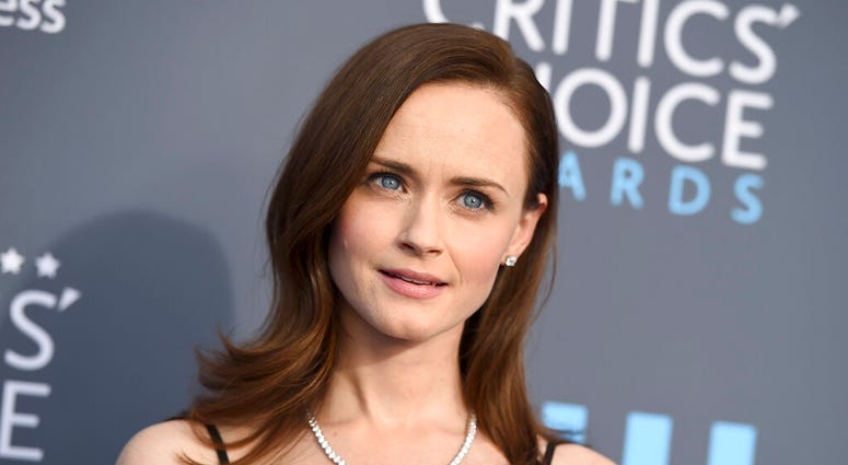 FILE - Alexis Bledel at the 23rd annual Critics' Choice Awards in Santa Monica, Calif. Cybersecurity firm McAfee on Monday crowned Bledel the most dangerous celebrity on the internet in 2019.  (Photo by Jordan Strauss/Invision/AP, File)