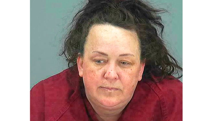 FILE - This file booking photo provided by Pinal County Sheriff's Office shows Machelle Hobson. (Pinal County Sheriff's Office via AP, File)