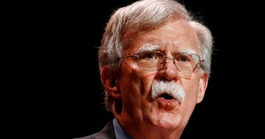 In this July 8, 2019, file photo, national security adviser John Bolton speaks at the Christians United for Israel's annual summit, in Washington. (AP Photo/Patrick Semansky, File)