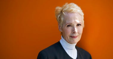 In this June 23, 2019, file photo, E. Jean Carroll poses for a photo in New York. (AP Photo/Craig Ruttle, File)