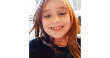 This undated photo provided by the Cayce Department of Public Safety shows Faye Marie Swetlik, who was missing since shortly after getting off her school bus near her South Carolina home Monday, Feb. 10, 2020. (Cayce Department of Public Safety via AP)