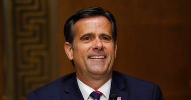 In this May 5, 2020, photo, Rep. John Ratcliffe, R-Texas, testifies before the Senate Intelligence Committee during his nomination hearing on Capitol Hill in Washington.