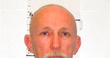 FILE - This Feb. 18, 2014, file photo, released by Missouri Department of Corrections, shows death row inmate Walter Barton, convicted of killing an 81-year-old mobile home park manager nearly three decades ago now faces execution in May.