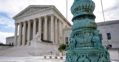 he Supreme Court is seen in Washington, early Monday, June 15, 2020.