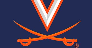 This updated logo was provided by the University of Virginia Athletics Department Tuesday, June 16, 2020.