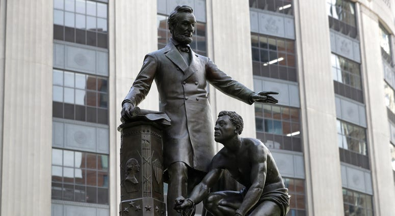 Abraham Lincoln Emancipation memorial Boston