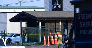 Lavish Lounge in Greenville, S.C., is seen in a Sunday, July 5, 2020 photo.