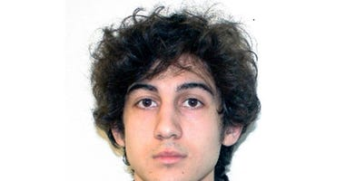 This file photo released April 19, 2013, by the Federal Bureau of Investigation shows Dzhokhar Tsarnaev, convicted and sentenced to death for carrying out the April 15, 2013, Boston Marathon bombing attack. (FBI via AP, File)