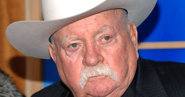 FILE - In this Monday, Dec. 14, 2009 file photo, Actor Wilford Brimley attends the premiere of 'Did You Hear About The Morgans' at the Ziegfeld Theater in New York.