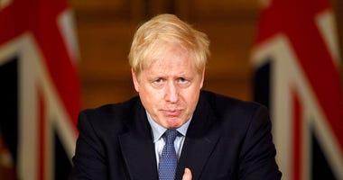 Britain's Prime Minister Boris Johnson speaks, during a coronavirus media briefing in Downing Street, London, Tuesday, Oct. 20, 2020. (Leon Neal/Pool Photo via AP)