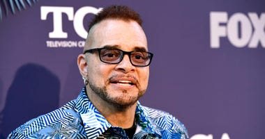 "FILE - Sinbad, a cast member in the television series ""Rel,"" poses at the FOX Summer TCA All-Star Party in West Hollywood, Calif., on Aug. 2, 2018. (Photo by Chris Pizzello/Invision/AP, File)"