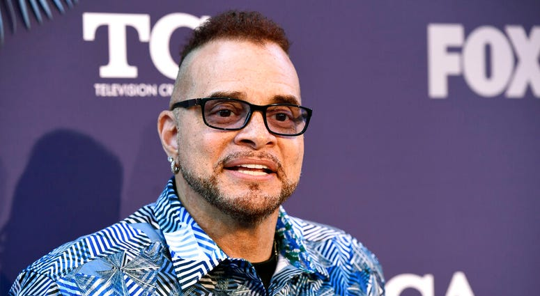 """FILE - Sinbad, a cast member in the television series """"Rel,"""" poses at the FOX Summer TCA All-Star Party in West Hollywood, Calif., on Aug. 2, 2018. (Photo by Chris Pizzello/Invision/AP, File)"""