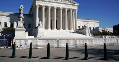 FILE - In this Nov. 4, 2020 photo, The Supreme Court in Washington.