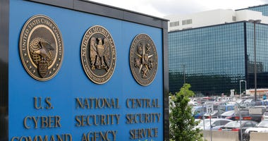 ILE - This June 6, 2013 file photo, shows the sign outside the National Security Agency (NSA) campus in Fort Meade, Md.