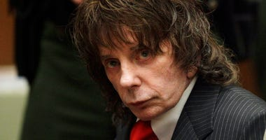 FILE - In this May 29, 2009 file photo, music producer Phil Spector sits in a courtroom for his sentencing in Los Angeles.