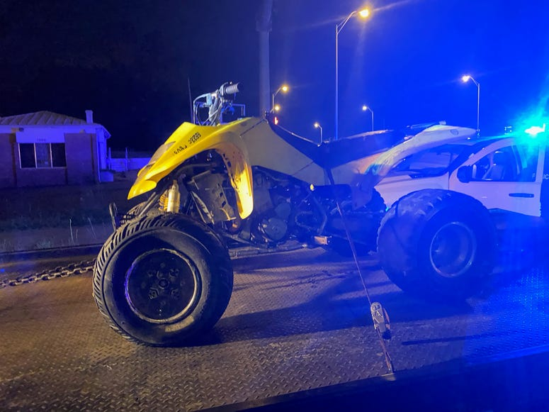 Richmond Police arrest three for reckless riding. The three were riding off-road vehicles in the area of the Lee Monument. (Photo Credit: Richmond Police)