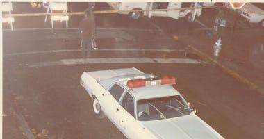 Michael Connors patrol car