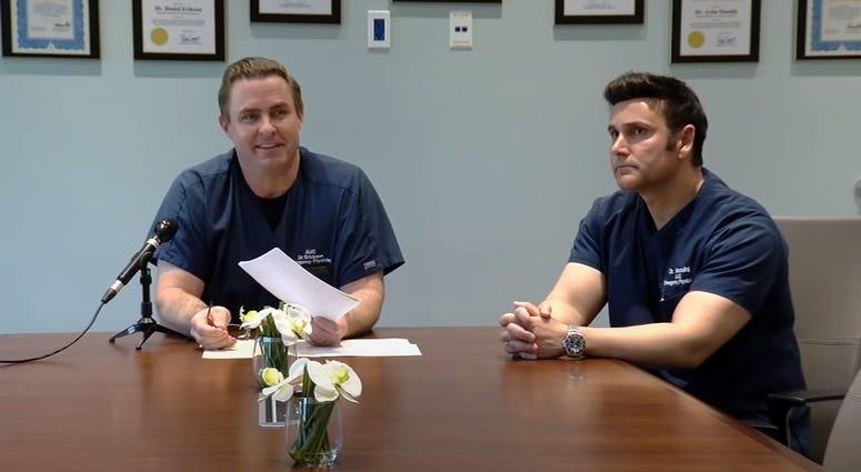 Dr. Dan Erickson and Dr. Artin Massihi