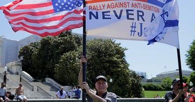 Rally Against Anti-Semitism Held At U.S. Capitol