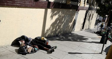 Homeless person San Francisco