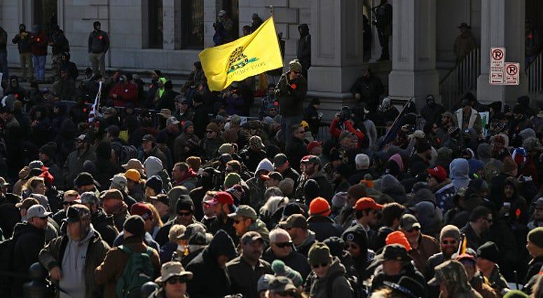 Richmond gun rally