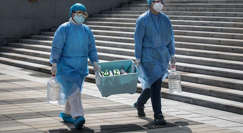 Chinese medical professionals coronavirus