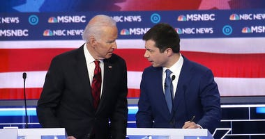 Joe Biden Pete Buttigieg