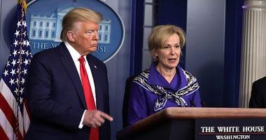President Donald Trump & Deborah Birx