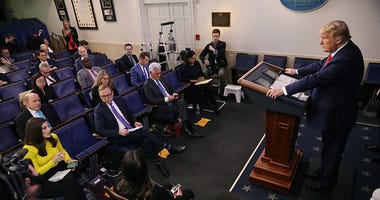 Coronavirus Task Force Briefs Press At White House
