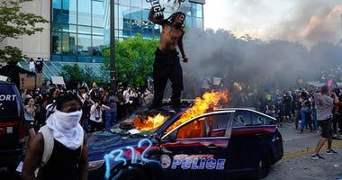 George Floyd protest Atlanta