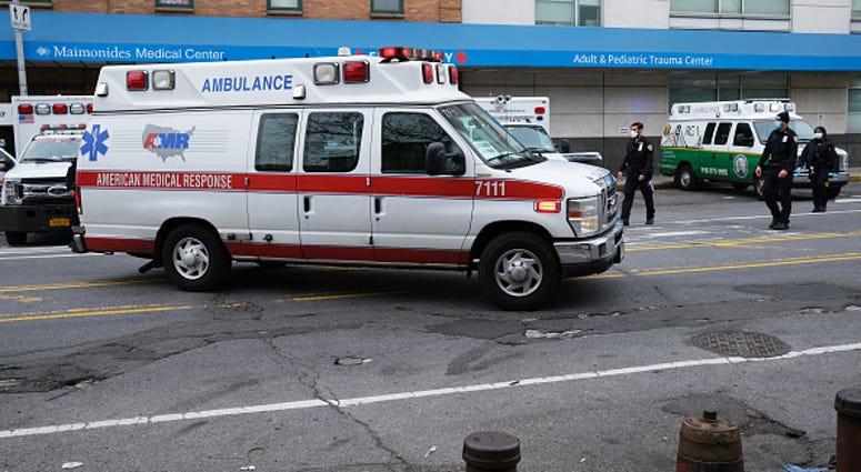 Coronavirus New York hospital
