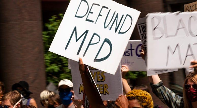 Black Lives Matter protest Minneapolis