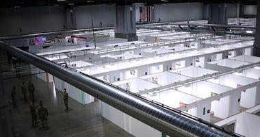 Coronavirus testing facility DC