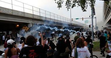 George Floyd protest Miami